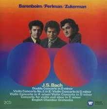 Johann Sebastian Bach (1685-1750): Violinkonzerte BWV 1041-1043,1052,1056,1060, 2 CDs