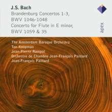 Johann Sebastian Bach (1685-1750): Brandenburgische Konzerte Nr.1-3, CD