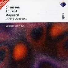 Alberic Magnard (1865-1914): Streichquartett op.16, 2 CDs