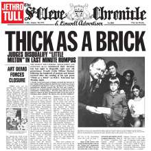 Jethro Tull: Thick As A Brick (180g) (Limited Edition) (Steven Wilson Mix), LP