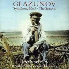 Alexander Glasunow (1865-1936): Symphonie Nr.5, CD