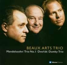 Beaux Arts Trio - Klaviertrios von Mendelssohn & Dvorak, CD