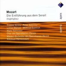 Wolfgang Amadeus Mozart (1756-1791): Die Entführung aus dem Serail (Ausz.), CD