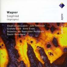 Richard Wagner (1813-1883): Siegfried (Ausz.), CD