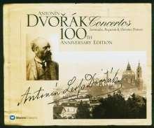 Antonin Dvorak (1841-1904): Antonin Dvorak 100th Anniversay Edition - Concertos etc., 6 CDs