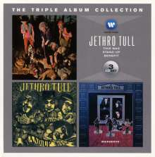 Jethro Tull: The Triple Album Collection, 3 CDs