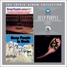 Deep Purple: The Triple Album Collection, 3 CDs