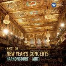 Best of New Year's Concerts -  Neujahrskonzerte mit Harnoncourt / Muti, CD