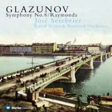 Alexander Glasunow (1865-1936): Symphonie Nr.8, CD