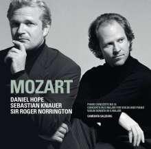 Wolfgang Amadeus Mozart (1756-1791): Konzert für Violine, Klavier & Orchester D-dur KV Anh.56, CD