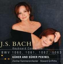 Johann Sebastian Bach (1685-1750): Klavierkonzerte BWV 1060-1063, CD