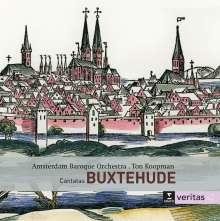 Dieterich Buxtehude (1637-1707): Kantaten, 2 CDs