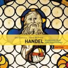"""Georg Friedrich Händel (1685-1759): Funeral Anthem """"The Ways of Zion do mourn"""" HWV 264, 2 CDs"""