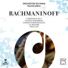 Sergej Rachmaninoff (1873-1943): Symphonie Nr.3, 2 CDs