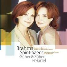 Johannes Brahms (1833-1897): Sonate f.2 Klaviere op.34, CD