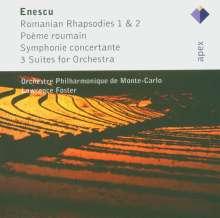 George Enescu (1881-1955): Orchestersuiten Nr.1-3, 2 CDs