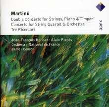Bohuslav Martinu (1890-1959): Doppelkonzert für Klavier,Pauken & Orchester, CD