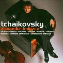 Peter Iljitsch Tschaikowsky (1840-1893): Werke für Cello & Orchester, CD