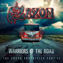 Saxon: Warriors Of The Road: The Saxon Chronicles Part II (2 DVD + CD) (Triple Jewel-Case), 2 DVDs und 1 CD