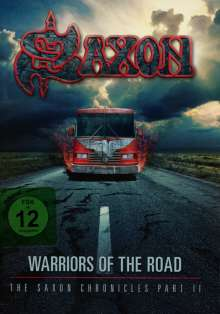 Saxon: Warriors Of The Road: The Saxon Chronicles Part II (2CD + DVD) (Hardcover-Mediabook), 3 DVDs