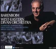 Daniel Barenboim & das West-Eastern Divan Orchestra (CD+DVD), 1 CD und 1 DVD