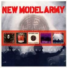 New Model Army: Original Album Series, 5 CDs