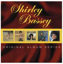 Shirley Bassey: Original Album Series, 5 CDs