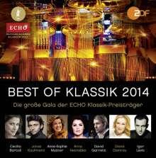 Best of Klassik 2014 - Die Echo Klassik Preisträger, 2 CDs