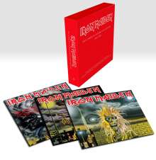 Iron Maiden: Collectors Box (180g) (Limited Edition), 3 LPs
