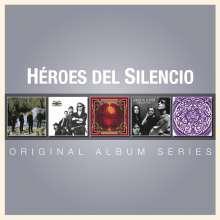 Héroes Del Silencio: Original Album Series, 5 CDs