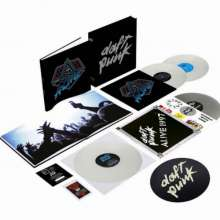 Daft Punk: Box Alive 2007/ Alive 1997 (180g) (Limited Deluxe Box) (White Vinyl), 4 LPs