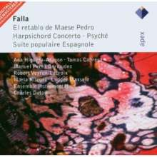 Manuel de Falla (1876-1946): Orchesterwerke, CD