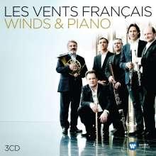 Les Vents Francais - Winds & Piano, 3 CDs