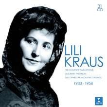 Lili Kraus - Complete Recordings 1933-1958, 31 CDs