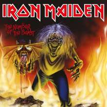 """Iron Maiden: The Number Of The Beast, Single 7"""""""