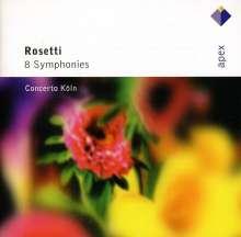Antonio Rosetti (1750-1792): Symphonien Vol.1 & 2 (Kaul I Nr.18,21-23,25,27,30,32), 2 CDs