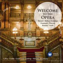 Welcome to the Opera, CD