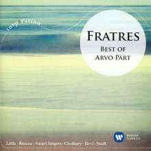 Arvo Pärt (geb. 1935): Fratres - Best of Arvo Pärt, CD