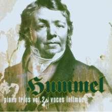 Johann Nepomuk Hummel (1778-1837): Sämtliche Klaviertrios Vol.2, CD