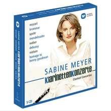 Sabine Meyer spielt Klarinettenkonzerte II, 5 CDs
