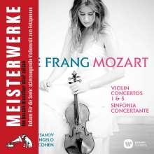 Wolfgang Amadeus Mozart (1756-1791): Violinkonzerte Nr.1 & 5, CD