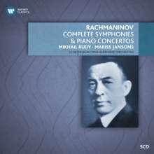 Sergej Rachmaninoff (1873-1943): Symphonien Nr.1-3, 5 CDs