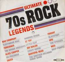 Ultimate 70's Rock Legends, CD