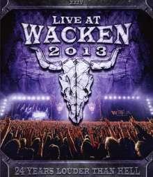 Live At Wacken 2013, 3 Blu-ray Discs