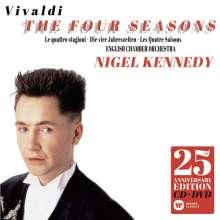 """Antonio Vivaldi (1678-1741): Concerti op.8 Nr.1-4 """"4 Jahreszeiten"""" (25th Century Anniversary Edition), 1 CD und 1 DVD"""