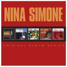 Nina Simone (1933-2003): Original Album Series, 5 CDs