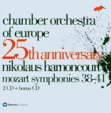 Chamber Orchestra of Europe - 25th Anniversary, 2 CDs