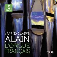 Marie-Claire Alain - L'Orgue Francais, 22 CDs