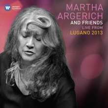 Martha Argerich & Friends - Live from Lugano Festival 2013, 3 CDs