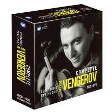 Maxim Vengerov - The Complete Recordings 1991-2007, 19 CDs
